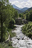Europe/France/Provence-Alpes-Côtes d'Azur/06/Alpes-Maritimes/Alpes-Maritimes/Arrière Pays Niçois/La Brigue: Le Vieux moulin de Cianessa sur la Levense