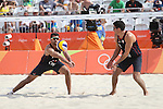 Río 2016 Volei Playa Chile vs Holanda