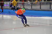 SCHAATSEN: BERLIJN: Sportforum, 08-12-2013, Essent ISU World Cup, 5000m Men Division A, Douwe de Vries (NED), ©foto Martin de Jong