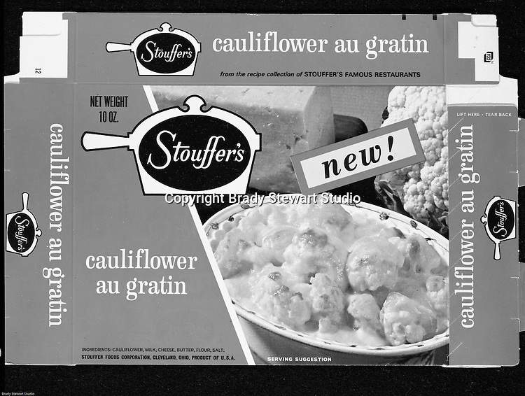 Client: Stouffer's Foods<br /> Ad Agency: Ketchum Macleod &amp; Grove<br /> Contact: Dana Gilpin<br /> Product: Stouffer's Frozen Foods<br /> Location: Brady Stewart Studio, 211 Empire Building on Liberty Avenue in Pittsburgh<br /> <br /> Studio photography of new Packaging for Stouffer's frozen foods.