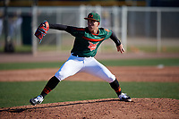 Renzo Gonzalez during the Under Armour All-America Tournament powered by Baseball Factory on January 18, 2020 at Sloan Park in Mesa, Arizona.  (Mike Janes/Four Seam Images)