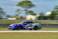 IMSA Continental Tire SportsCar Challenge<br /> Sebring February Test<br /> Sebring International Raceway, Sebring, Florida, USA<br /> Wednesday 21 February 2018<br /> #8 Multimatic Motorsports, Ford Mustang GT4, GS: Chad McCumbee, Patrick Gallagher<br /> World Copyright: Richard Dole<br /> LAT Images