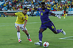 Radamel Falcao of Colombia and Onana of Camerun during the friendly match between Camerun and Colombia in Madrid, Spain 13 jun 2017.(ALTERPHOTOS/Rodrigo Jimenez)