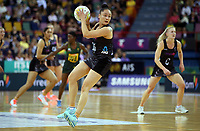 02.08.2017 Silver Ferns Whitney Souness in action during a netball match between the Silver Ferns and South Africa at the Brisbane Entertainment Centre in Brisbane Australia. Mandatory Photo Credit ©Michael Bradley.