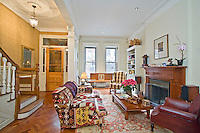 Living Room at 136 West 81st Street