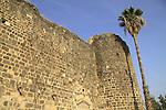 Israel, Sea of Galilee, Tiberias Fortress built in 1745 by the son of Daher el Omar