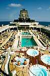 Cruise Ship: Celebrity's Century, outdoor dick,  Photo: carniv105.Photo copyright Lee Foster, 510/549-2202,  lee@fostertravel.com, www.fostertravel.com
