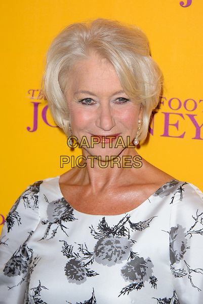 LONDON, ENGLAND - SEPTEMBER 03: Helen Mirren attends Uk Gala Screening of 'The Hundred Foot Journey' at the Curzon Mayfair on September 03, 2014 in London, England. <br /> CAP/CJ<br /> &copy;Chris Joseph/Capital Pictures