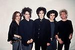 The Cure - Robert Smith, Simon Gallup, Roger O'Donnell , Boris Williams, Porl Thompson 1989