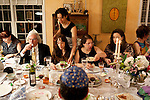 The Passover Seder feast hosted by Miriam Karp in her Atlanta home April 17, 2011...Kendrick Brinson/LUCEO
