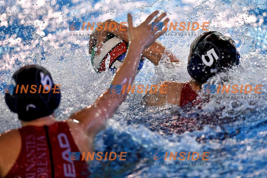 Hayley Ann McKelvey Florentia <br /> Roma 04-01-2019 Centro Federale  <br /> Final Six Pallanuoto Donne Coppa Italia Quarti di finale <br /> Rapallo Pallanuoto - RN Florentia<br /> Foto Andrea Staccioli/Deepbluemedia/Insidefoto