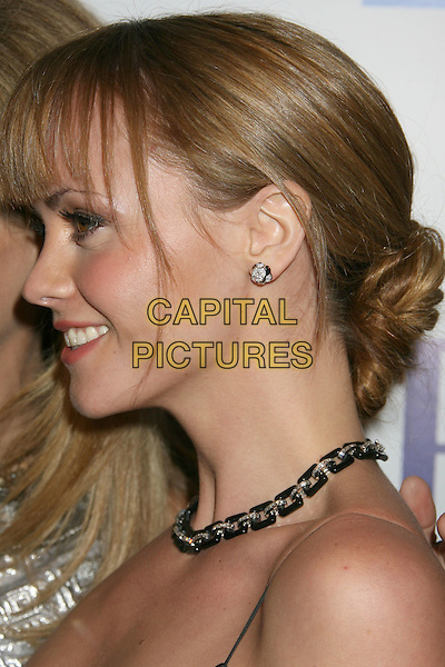 "CHRISTINA RICCI.""Penelope"" Los Angeles Premiere held at the Directors Guild of America Theater, Los Angeles, California, USA..February 20th, 2008.headshot portrait necklace profile .CAP/ADM/RE.©Russ Elliot/AdMedia/Capital Pictures."