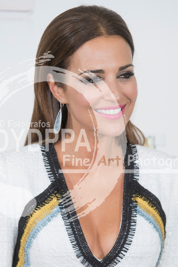 Paula Echevarria, Spanish actress. Ex-wife of the Spanish singer David Bustamante and girlfriend of the soccer player of the Malaga football club, Miguel Torres