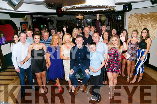 Adam Barrett, Doon, Tralee celebrates his 21st Birthday with family and friends at Benners Hotel on Saturday