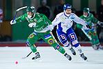 Stockholm 2013-02-10 Bandy Elitserien , Hammarby IF - IFK Vänersborg :  .Hammarby 40 Adam Gilljam Giljam och Vänersborg 57 Joakim Hedqvist .(Byline: Foto: Kenta Jönsson) Nyckelord: