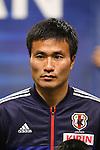 Yasuyuki Konno (JPN), .FEBRUARY 6, 2013 - Football / Soccer : .KIRIN Challenge Cup 2013 Match between Japan 3-0 Latvia .at Home's Stadium Kobe in Hyogo, Japan. .(Photo by Akihiro Sugimoto/AFLO SPORT)