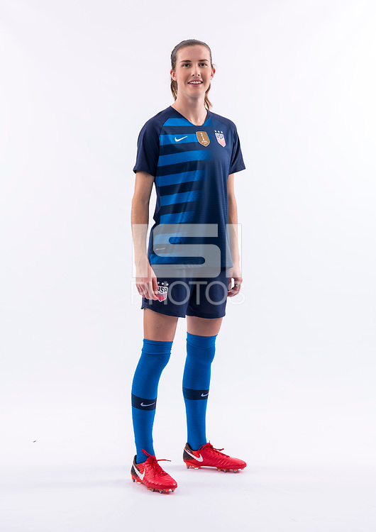 Carson, CA - January 10, 2018:  USWNT PortraitsCarson, CA - January 10, 2018:  USWNT Portraits