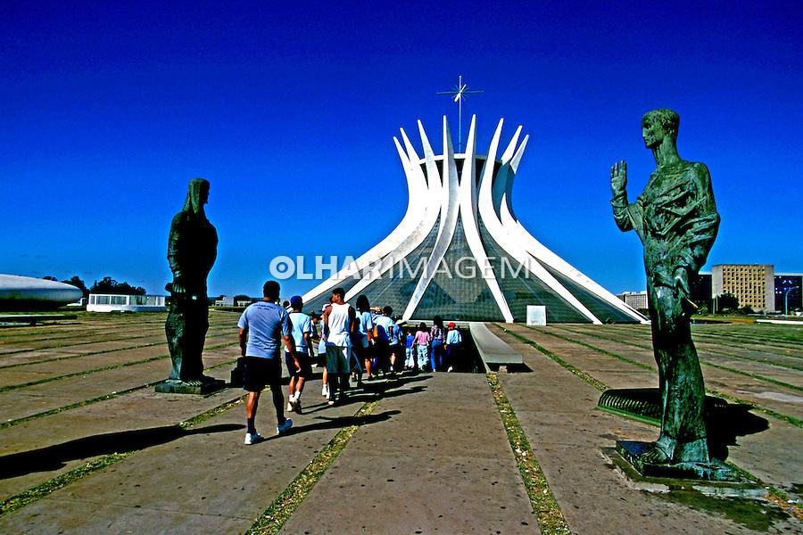 Catedral de Brasília. 2001. Foto de Juca Martins.