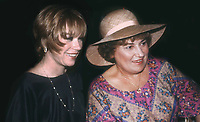 Shirley McLaine and Bella Abzug 1978<br />