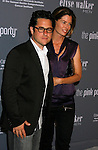 SANTA MONICA, CA. - September 13: Director/producer J.J. Abrams and wife arrive at the 4th Annual Pink Party at Barker Hanger on September 13, 2008 in Santa Monica, California.