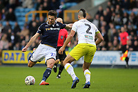 Ryan Leonard of Millwall takes a shot at the Hull City goal during Millwall vs Hull City, Emirates FA Cup Football at The Den on 6th January 2019