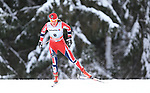 03/01/2014, Dobbiaco, Toblach - 2014 Cross Country Ski World Cup Tour de ski <br />  in action during the Ladies 15 km Free Pursuit in Dobbiaco, Toblach, Italy on 03/01/2014.