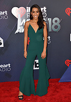 Seinne Fleming at the 2018 iHeartRadio Music Awards at The Forum, Los Angeles, USA 11 March 2018<br /> Picture: Paul Smith/Featureflash/SilverHub 0208 004 5359 sales@silverhubmedia.com