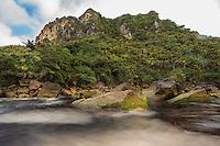 Kohaihai River, Karamea, Buller, New Zealand - stock photo, canvas, fine art print