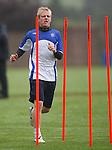 Steven Naismith at training