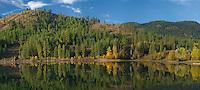 Patterson Lake in autumn, Okanogan National Forest, Washington