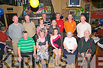 60th Birthday : Kathleen Coyne, Ballyhorgan, Lixnaw, second left front, celebrating her 60th birthday with her family at McCarthy's Bar, Finuge on Saturday night last.Front : Billy, Kathleen & Orla Coyne & Kittty & Kevin Molyneaux. Back: Liam, Matty, Marie & Marie Molyneaux, Noreen Power, JJ, Gerald & Michael Molyneaux.