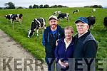 Niall, Carol and John Mason at the Family Farm near Tralee.