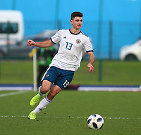 16th November 2019; Leckwith Stadium, Cardiff, Glamorgan, Wales; European Championship Under 19 2020 Qualifiers, Russia under 19s v Wales under 19s; Kirill Kravtsov of Russia Under 19 - Editorial Use