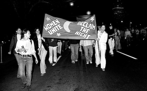 Take Back the Night demonstration Boston MA 8.26.78