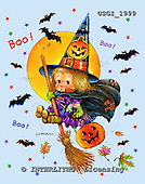 GIORDANO, CUTE ANIMALS, LUSTIGE TIERE, ANIMALITOS DIVERTIDOS, Halloween, paintings+++++,USGI1999,#AC#