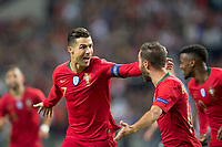 Porto, Portugal - Wednesday, June 5, 2019: Portugal beat Switzerland 3-1 to reach the final of UEFA Nations League 2019 at Estadio do Dragao in Porto.