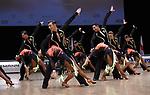 """07.12.2019,  GER; Tanzen, WDSF Weltmeisterschaft der Lateinformationen, Zwischenrunde, im Bild Gruen-Gold-Club Bremen (GER) mit dem Thema """"Music is the key"""" Foto © nordphoto / Witke *** Local Caption ***"""