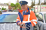 Kenmare's Traffic Warden, Harry Materson, has retired after 13 years service keeping traffic flowing freely in the town .