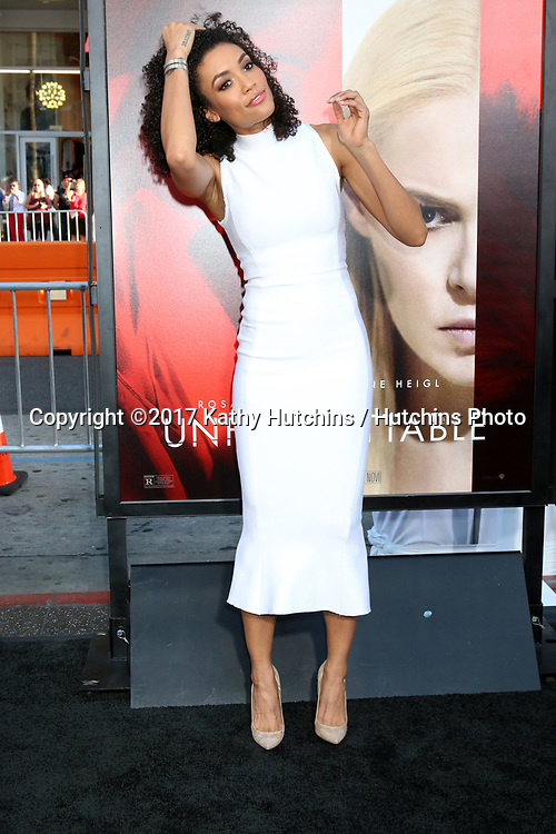 """LOS ANGELES - APR 18:  Annie Ilonzeh at the """"Unforgettable"""" Premiere at TCL Chinese Theater IMAX on April 18, 2017 in Los Angeles, CA"""
