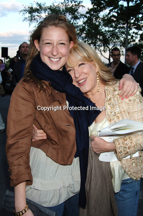 Sophie von Haselberg and mom Bette Midler..at  Bette Midler's New York Restoration Project  5th Annual Picnic on May 22, 2006 at Highbridge Park...Robin Platzer, Twin Images..