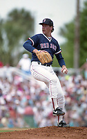 Boston Red Sox Frank Viola during Spring Training circa 1992 at Chain of Lakes Park in Winter Haven, Florida.  (MJA/Four Seam Images)