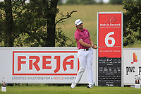 Nacho Elvira (ESP) on the 6th tee during Round 4 of Made in Denmark at Himmerland Golf &amp; Spa Resort, Farso, Denmark. 27/08/2017<br /> Picture: Golffile | Thos Caffrey<br /> <br /> All photo usage must carry mandatory copyright credit     (&copy; Golffile | Thos Caffrey)