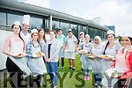 Students from KDYS youthreach LCA culinary cook competition at the Hotel Culinary arts department at the North campus IT Tralee Pictured l-r Pictured Shauna Russell, Annie Burke, TJ O'Connor IT Tralee, Aideen Martin, teachers Niamh Nic Gearaile, Aaron James, Patrick Gabco, Jade Sweeney, Cheyenne Cunningham, Sherban Seif, Megan O'Mahony and Amy Diggan
