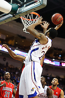 Nov. 27, 2010. Las Vegas, NV: The Kansas Jayhawks' Markieff Morris in the Las Vegas Invitational at the Orleans Arena.