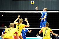 GRONINGEN - Volleybal, Lycurgus - Dynamo Apeldoorn, Martiniplaza,  Eredivisie, seizoen 2018-2019, 11-11-2018,  Lycurgus speler Dennis Borst