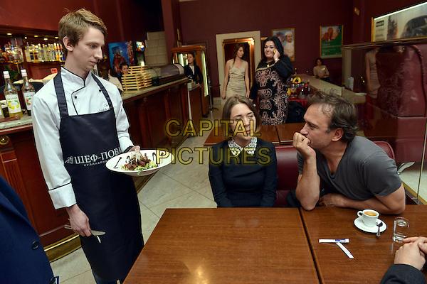 ST. PETERSBURG, RUSSIA - APRIL 22: Vincent Perez at 'A Kitchen is in Paris' film premiere at Cinema &quot;Art&quot; on April 22nd, 2014 in St. Petersburg, Russia.<br /> CAP/PER/VB<br /> &copy;VB/PersonaStars/CapitalPictures
