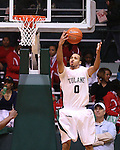 The Tulane Green Wave fall to the UAB Blazers 58-49 in men's basketball action at Fogelman Arena on January 10.