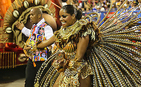 RIO DE JANEIRO, RJ, 11 FEVEREIRO 2013 - CARNAVAL RJ - SALGUEIRO - Addriana Bombom .da escola de samba Salgueiro durante desfile no primeiro dia do Grupo Especial no Sambódromo Sapucai nna capital fluminense, na madrugada desta segunda 11. (FOTO: VANESSA CARVALHO - BRAZIL PHOTO PRESS).