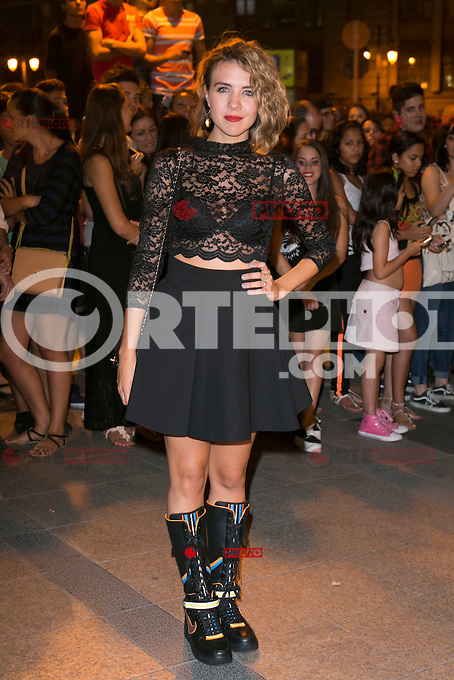 Andrea Guash attends the party of Nike and Roberto Tisci at the Casino in Madrid, Spain. September 15, 2014. (ALTERPHOTOS/Carlos Dafonte) /NortePhoto.com