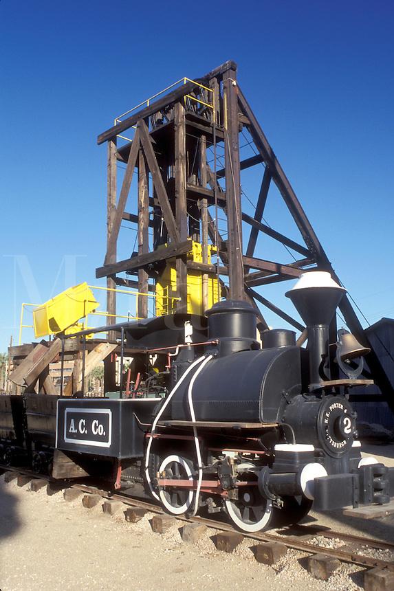 mining, Phoenix, Arizona, AZ, Exhibit at the Arizona Mining and Mineral Museum in Phoenix.